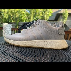 Adidas Boost with Tan Gum Sole
